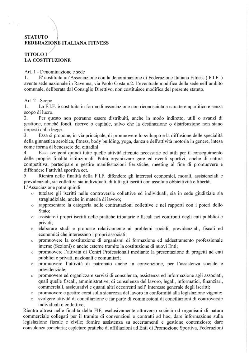 Statuto FIF 2016 1