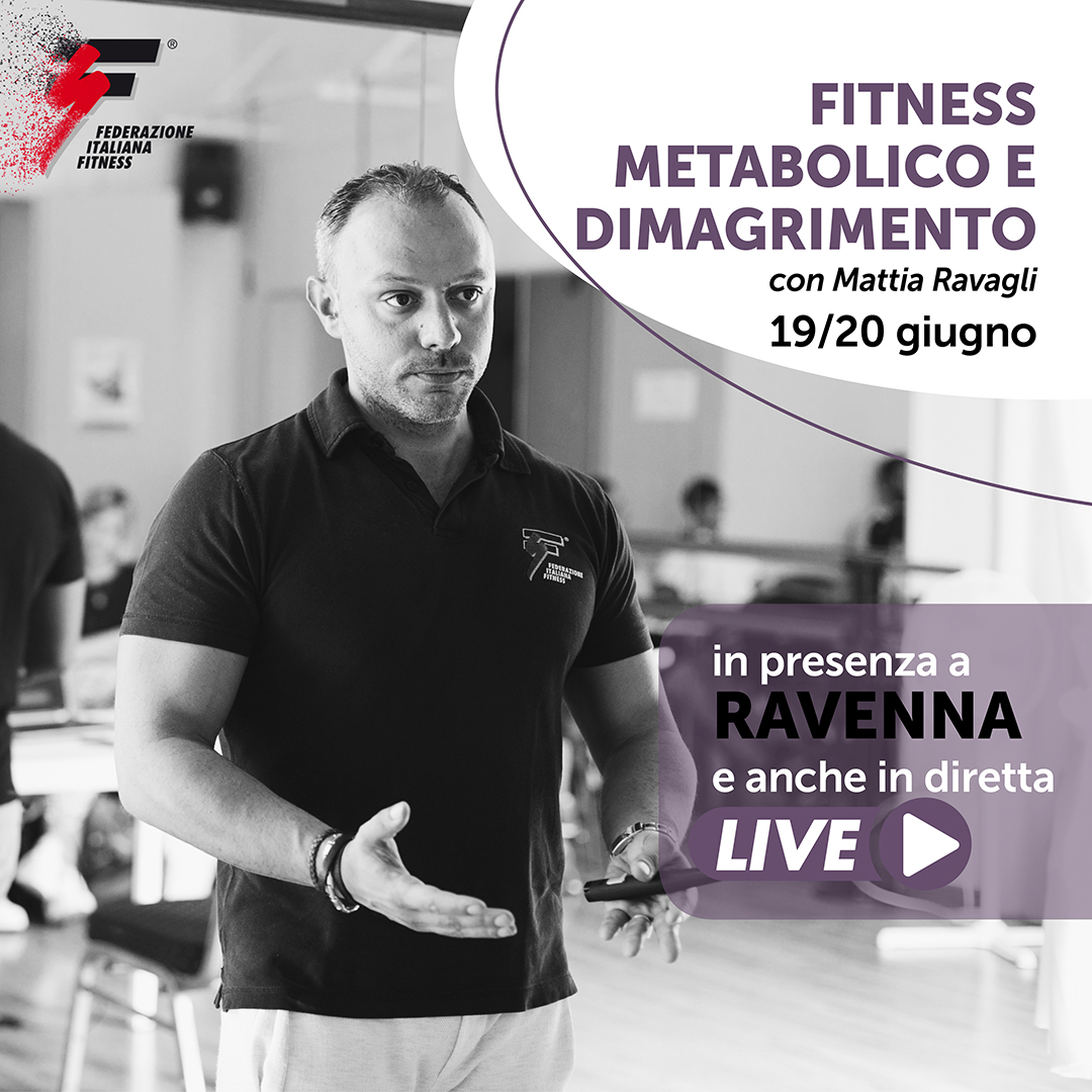 FITNESS METABOLICO E DIMAGRIMENTO/Master Live