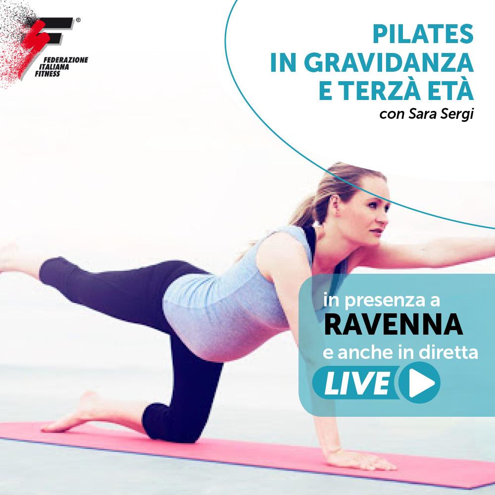 corso live pilates gravidanza