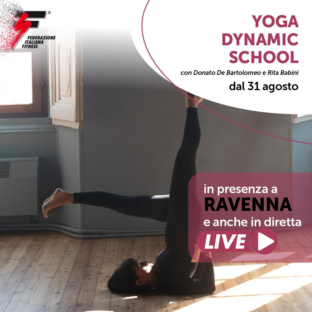 YOGA DYNAMIC SCHOOL /Corso Live