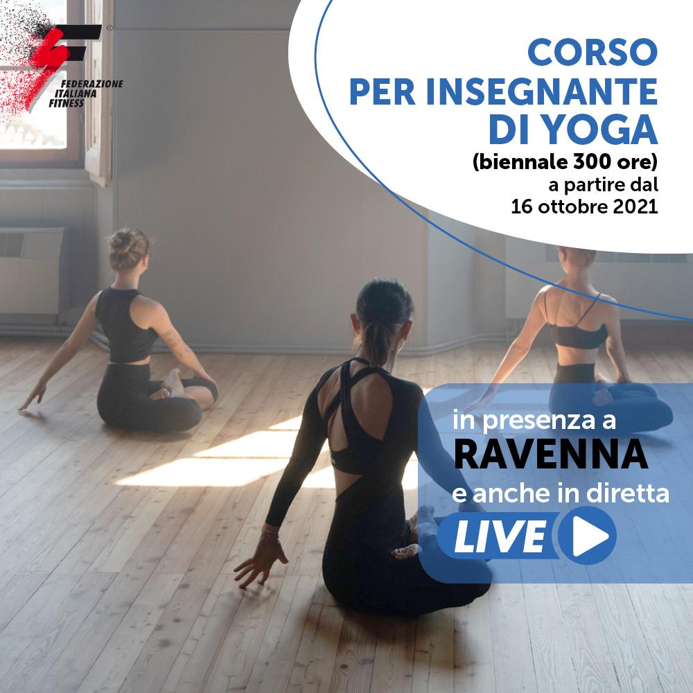 INSEGNANTE DI YOGA (Corso Biennale - 300 ore)