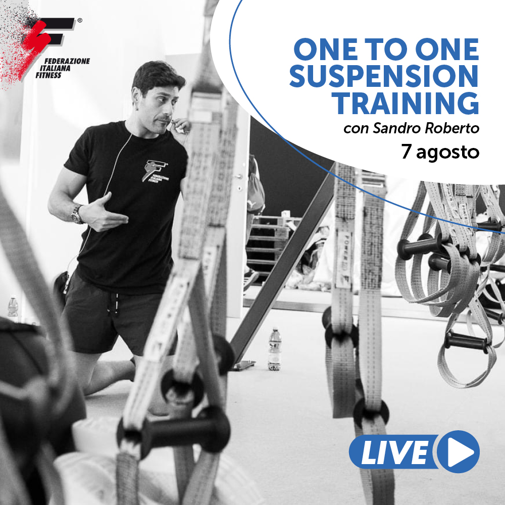 ONE TO ONE SUSPENSION TRAINING/Master Live