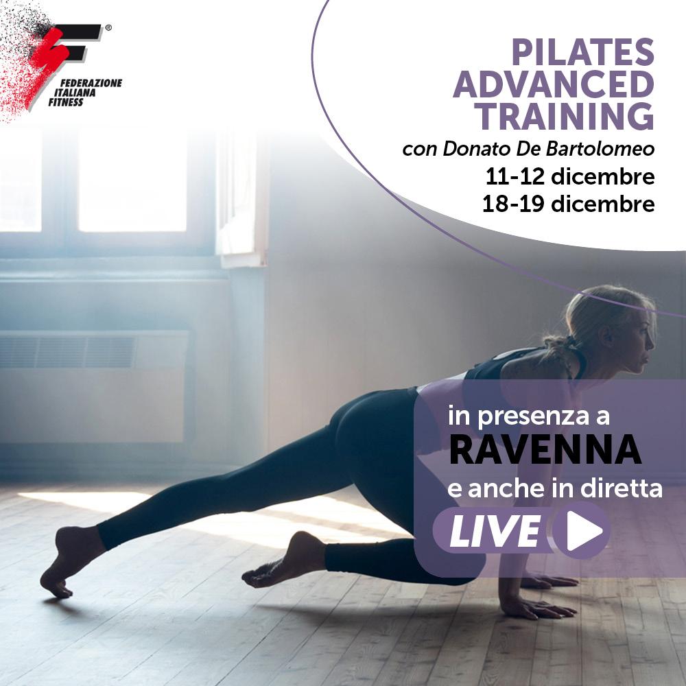 corso live pilates advanced