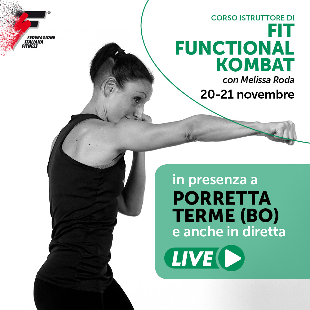 FIT FUNCTIONAL KOMBAT/Corso live