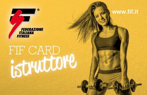 FIF Card Istruttore