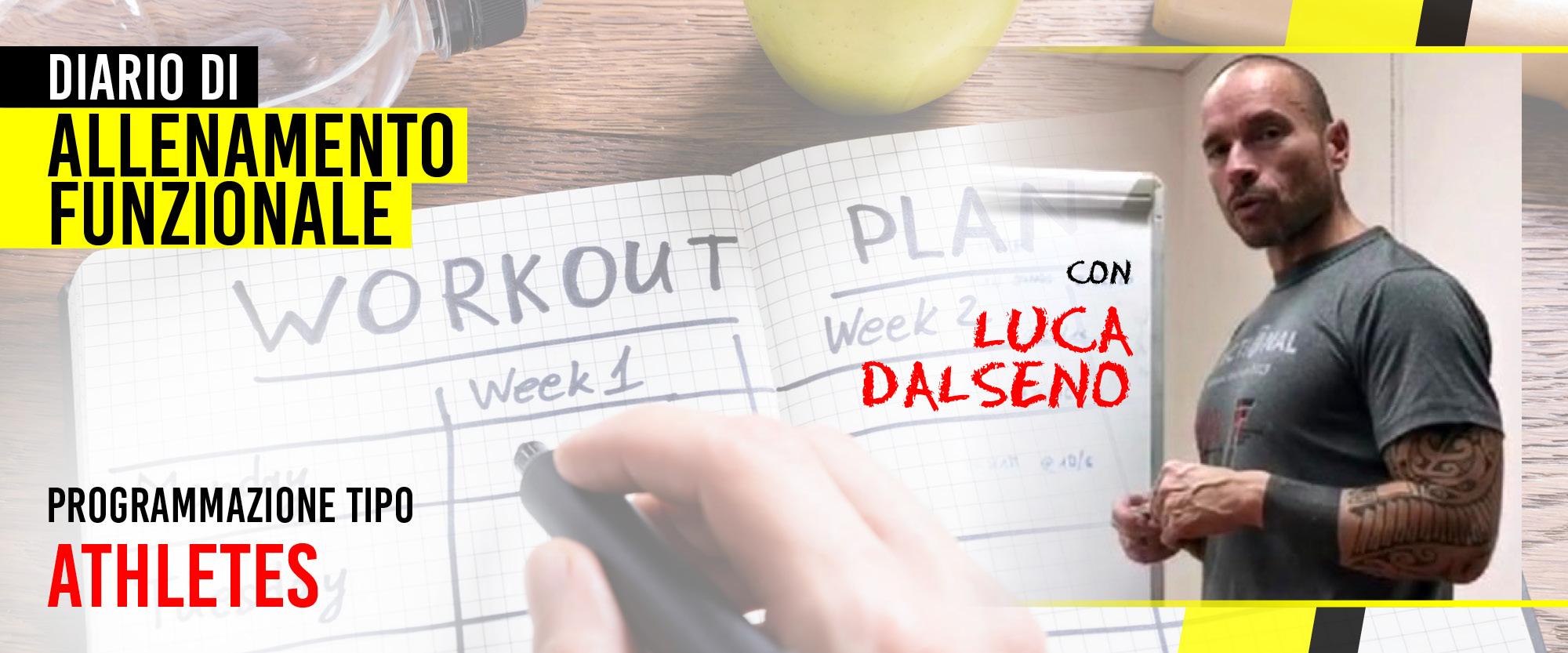 diario di allenamento funzionale