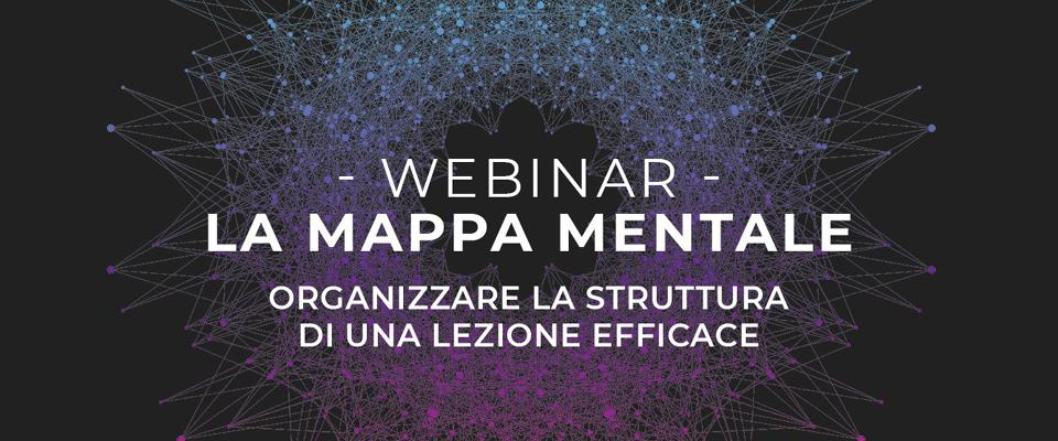 webinar mappa mentale