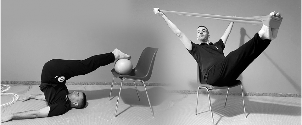 PILATES PROPS WITH CHAIR