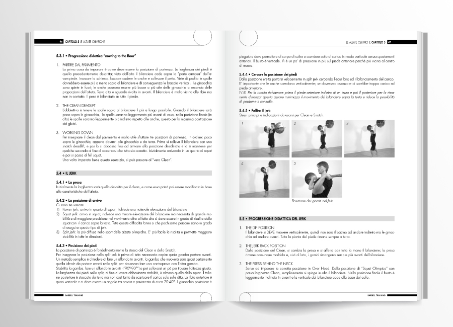 pagine interne barbell training