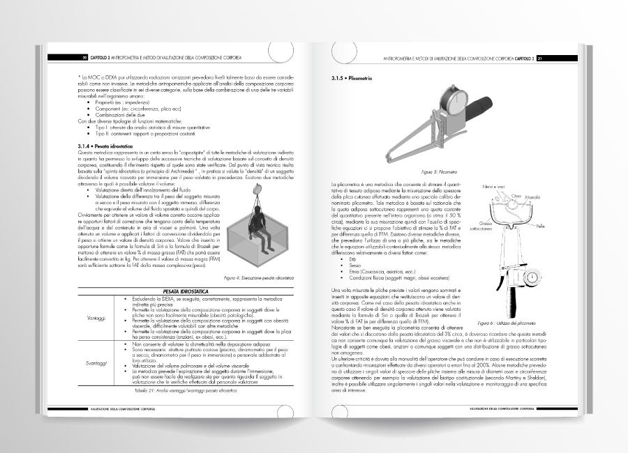pagine interne valutazione composizione corporea
