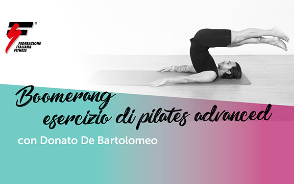 Boomerang: esercizio di pilates advanced