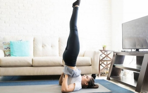 Pilates workout at home