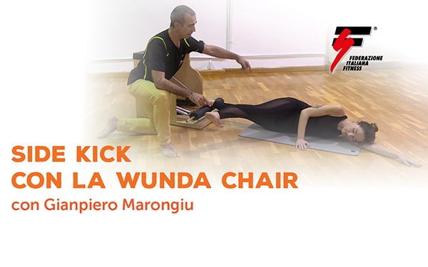 Side Kick con la Wunda chair
