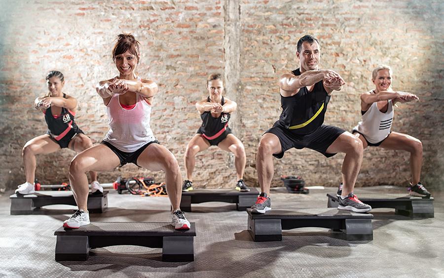 aerobica dopo pesi per bruciare uomini grassi
