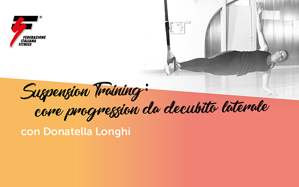 Suspension Training: core progression da decubito laterale